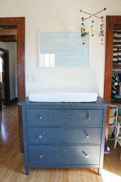 Ikea Hemnes Three Drawer Dresser Hack For Nursery On Oakland Avenue