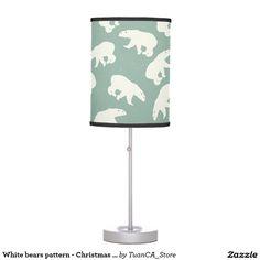 White bears pattern - Christmas gifts