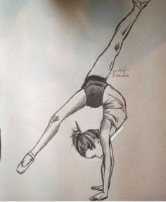 Pin by deb on drawings in 2019 dibujos de ballet, dibujos tu Easy People Drawings, Easy Doodles Drawings, Sketches Of People, Cool Art Drawings, Realistic Drawings, Beautiful Drawings, Colorful Drawings, Drawing People, Drawing Faces