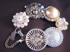 Reclaimed Vintage Bracelet Vintage by JenniferJonesJewelry on Etsy, $37.50