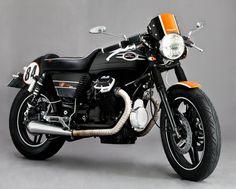 Moto Guzzi V65 SP 1984 cafe racer by Crowbar Garage https://www.facebook.com/crowbargarage/
