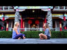 Finding peace and happiness in exotic places with #ROXYfitness - YouTube