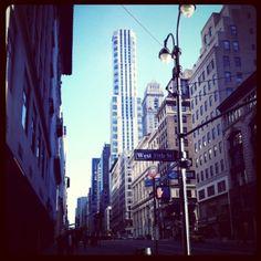 Still in NYC.
