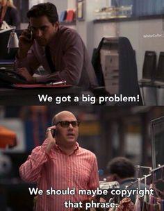 Problems make plots, Mozzie. Matt Bomer as Neal Caffrey and Willie Garson as his partner-in-crime, Mozzie, in White Collar. White Collar Quotes, Quotes White, Matt Bomer White Collar, Neal Caffrey, Z Cam, Por Tv, Film Quotes, Criminal Minds, Wedding Humor