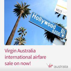 Virgin Australia USA airfare sale is on now. Pick up great fares to LA, NY, Vegas & San Fran http://www.corporatetraveller.com.au/virgin-australia-usa-sale-now