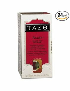 Tazo® Awake Tea, Filter Bags (24-pc.): Amazon.com: Grocery & Gourmet Food