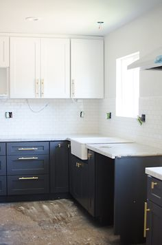 kitchen update: painted cabinets // brittanyMakes