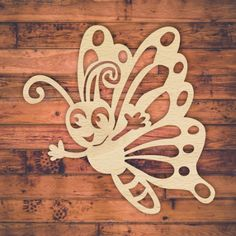 This happy fun kiddies laser cut butterfly pattern for sale. Buy this template, design, pattern. This beautiful butterflies can be laser cut, scroll saw, hand cut or CNC router. It can be use from interior design decor, wall art, kids decor, invites, coasters, mothers day gift, birthday present or add to your product catalog. Cut out of wood, paper, hardboard, Perspex ® acrylic. Download VECTOR file PDF, AI, EPS, SVG, CDR x4. Use your favorite editing program to scale this vector to any…