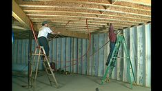 """This is """"Floor Joist - PEX Installation"""" by VIDEOSyncracies on Vimeo, the home for high quality videos and the people who love them. Radient Floor Heating, Hydronic Radiant Floor Heating, Installing Heated Floors, Basement Insulation, Pex Plumbing, Low Water Pressure, Water Tube, Custom Trailers, Flooring Companies"""