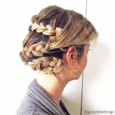 Girlie Little Things by Burcu Arkut: A Wedding Hair-do? #braid #hair