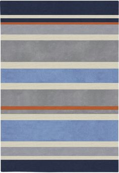 Rosenberry Rooms has everything imaginable for your child's room! Share the news and get $20 Off  your purchase! (*Minimum purchase required.) Gray Blue Stripes Rug