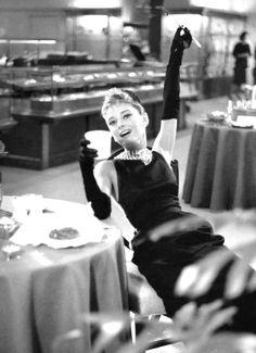 Breakfast at Tiffany's. Audrey Hepburn
