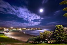 Super Moon. Bondi Beach, Sydney, NSW Australia. Photo: Hirsty Photography