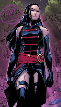Marvel Dc, Marvel Comics, Marvel Girls, Comics Girls, Marvel Funny, Marvel Heroes, X Men, Psylocke, Marvel Comic Character