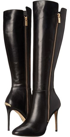 936dadeb8eab MICHAEL Michael Kors Clara Boot - ShopStyle. Black Boots Knee HighLeather High  Heel ...