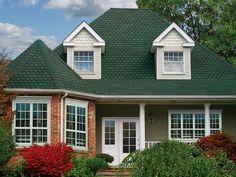 Moss Green #gaf #designer #roof #shingles #home