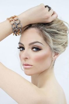 Bridal Make-up Eyeshadow Shades to Suit Each Eye Colour (2)