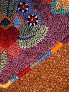 LOVE THIS for finishing rugs!