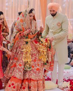 Indian Wedding Outfits, Bridal Outfits, Bridal Dresses, Indian Weddings, Punjabi Wedding, Indian Designer Wear, Bridal Lehenga, Wedding Suits, Indian Bridal