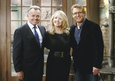 Who's the daddy? All smiles behind-the-scenes! Ian Ward, Ray Wise, Who's The Daddy, Young And The Restless, All Smiles, Soaps, Behind The Scenes, Opera, Characters
