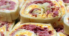 Inspired By eRecipeCards: Reuben Pinwheel Sandwich - 52 Appetizers