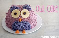 Owl Cake | http://mummymade.it/2016/08/owl-cake.html