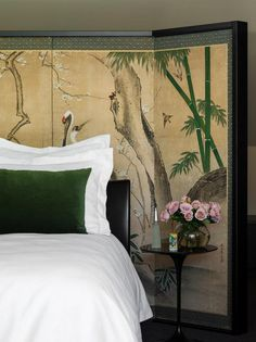 A touch of contemporary luxury, a Japanese riff, a hint of Art Deco, sadly not enough photos. A...