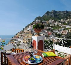Positano, Italy. Le Sirenuse Hotel. Please place me right there, right now.