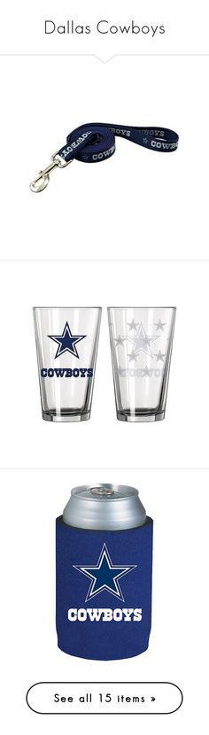 """""""Dallas Cowboys"""" by xxghostlygracexx ❤ liked on Polyvore featuring home, kitchen & dining, dallas cowboys, barware & drinkware, bed & bath, bedding, blankets, sherpa throw, sherpa bedding and nfl bedding"""