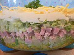 Vrstvený salát Guacamole, Tiramisu, Potato Salad, Food And Drink, Potatoes, Mexican, Ethnic Recipes, Potato, Tiramisu Cake