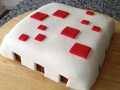 Crafting the Minecraft Cake   Diva Indoors: Food, with love