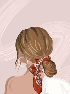 Illustration Mode, Portrait Illustration, Digital Illustration, Illustrations, Digital Art Girl, Cartoon Art Styles, Aesthetic Art, Female Art, Cute Art
