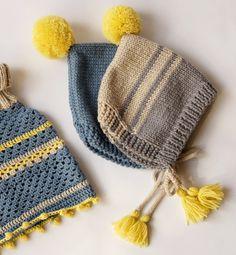 Le tuto du béguin à pompon explications tricot gratuties en français
