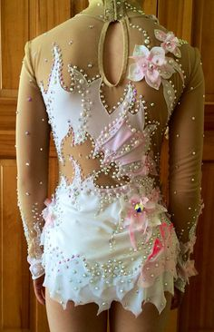 Etsy の Competition Rhythmic Gymnastics Leotard SOLD by Savalia