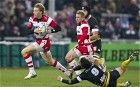 In the fast lane: Billy Twelvetrees brings the classic skills of an inside centre to the England squad