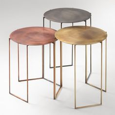 Tribu tables by Michela & Paolo Baldessari for DeCastelli