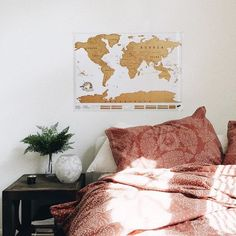 World Scratch Map - Urban Outfitters