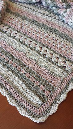 Ideas For Crochet Basket Kids Baby Blankets Crochet Baby Blanket Free Pattern, Afghan Crochet Patterns, Free Crochet, Knitting Patterns, Beginner Crochet, Crochet Crafts, Crochet Projects, Manta Crochet, Etsy
