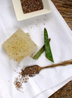 Chia and Aloe Soap   Homemade Soap 4 Ways   HelloGlow.co