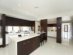 Modern kitchen-dining kitchen design using hardwood - Kitchen Photo 332811