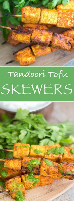 How do You Make Tofu Delicious? Marinate Them in Indian Spices and Oven Roast. This easy and versatile Tandoori Tofu can be made Vegan or Vegetarian and makes for a delicious appetizer or dinner.