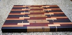 End grain cutting board End Grain Cutting Board, Wood Cutting Boards, Butcher Block Cutting Board, Traditional Woodworker, Bread Board, Self Healing, Serving Board, Wood Crafts, 3 D
