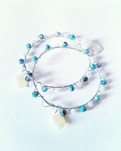 Excited to share the latest addition to my #etsy shop: Blue bead and pearls bangle set, bracelet set, boho blue bangle, boho bangles, hippie pearl bangles set, bohemian bangle, boho pearl bangles #jewelry #bracelet #floralbracelet #etsysale #freeshipping #etsygreece #handmade #bangles #bohemian #hippie #bohobraceletset https://etsy.me/2GdiAOU