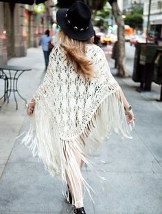 Fringe is one of our fall fashion faves! Repin if you agree!