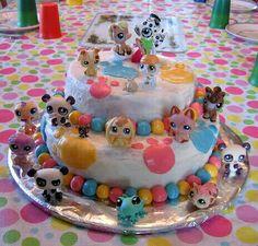 Little pet shop cake
