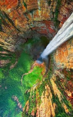 Angel Falls, Venezuela. The Cutest Beachy Apparel Online! Pack for your next vacation at Qtee.com
