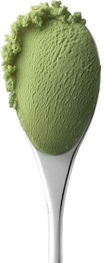 Green tea ice cream ;)