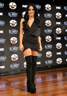 Famous Photos, Becky G, Shows, Celebrity Outfits, Peplum Dress, Wonder Woman, Singer, Poses, Fashion Outfits