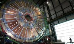 This is the Large Hadron Collider where the Higgs Boson Particle was just found in Switzerland! It generates almost 1 billion collisions per second and they're times hotter than the sun! It's a big day in the world of science! Particle Collider, Lawrence Krauss, Elementary Particle, Particle Accelerator, Physics Research, Large Hadron Collider, Faster Than Light, Tiny Steps, Higgs Boson