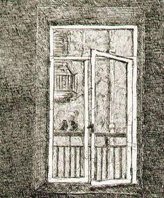 """Particolare dell'incisione calcografica """"Vita"""" - Acquaforte su rame di Pasquale Scognamiglio"""